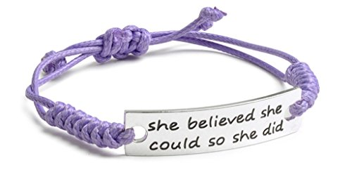 she-believed-she-could-so-she-did-inspirational-silver-plated-purple-adjustable-bracelet