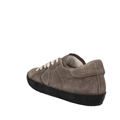 PHILIPPE MODEL Sneakers Donna 37 EU Grigio Camoscio AE361
