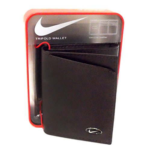 Nike Mens Leather Trifold Wallet