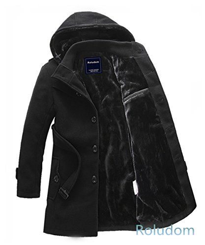 roludom-mens-parka-luxury-faux-fur-long-winter-jacket-hooded-overcoatbalckmediumus
