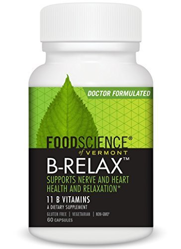 Food Science Vitamins B-complex (FoodScience of Vermont A, B, C, Bioflavonoids & E B Complex-75 60 vegetarian capsules (a) - 2PC - 3PC)
