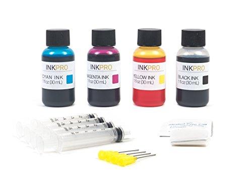 InkPro Premium Combo Ink Refill Kit for HP 21/22, 27/28, 56/57 Ink Cartridges 1oz 30ml (Hp 56 57 Ink Cartridges Best Price)