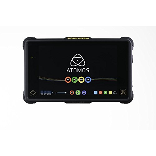 Atomos Shogun Inferno | 7 Inch Touchscreen Recording Camera Monitor (Charger Fast Zebra)