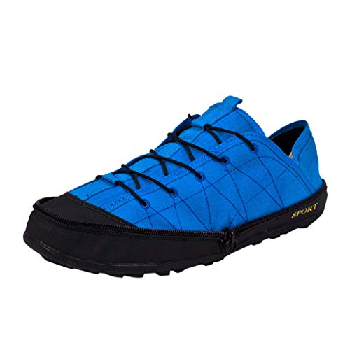 2019 New! ! Couples Convenient Folding Wading Walking Shoes Travel Upstream Shoes Outdoor Sports Shoes by Sharemen(Blue,US: 9)