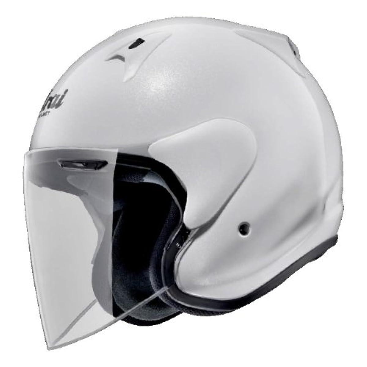 [해외] 아라이 오토바이 헬멧 제트 SZ-G 글래스 화이트 M 57-58CM