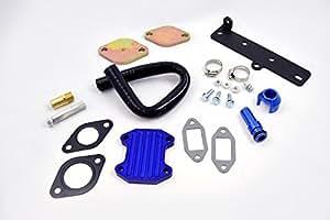 EGR Cooler Delete Kit w/ Gaskets & Hose For 2013-2017 Dodge 6.7L Cummins Diesel