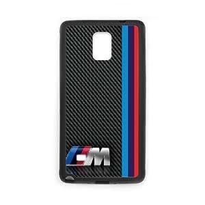 Samsung Galaxy Note 4 N9108 Phone Case Black BMW QY7987908