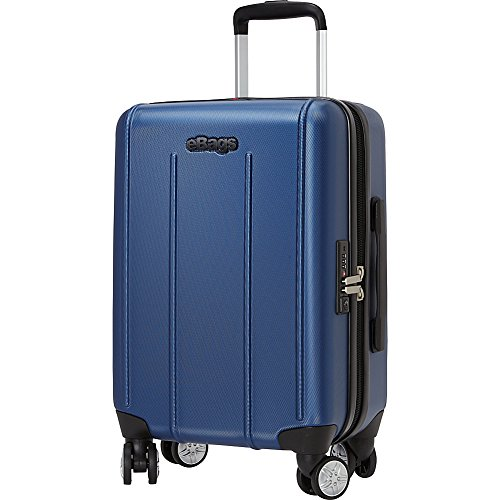eBags EXO 2.0 Hardside Spinner Carry-On (Metallic Blue)
