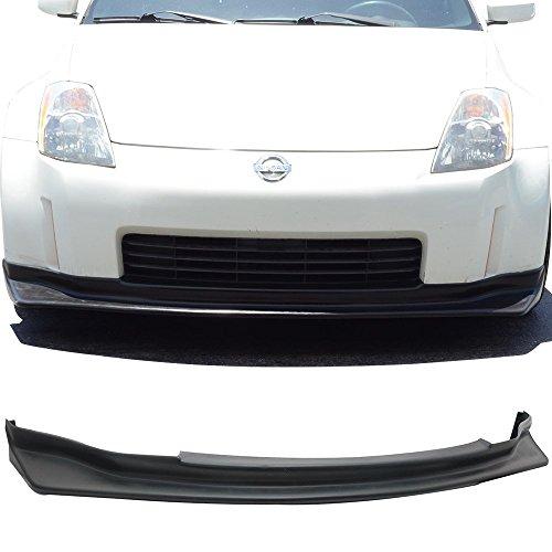 - 03-05 Nissan 350Z Z33 2 Door JDM N-Style Add-On Front Bumper Lip Urethane