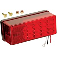 WESBAR Wesbar 3 x 8 Waterproof LED 8-Function, Left/Roadside Tail Light / 407535 /