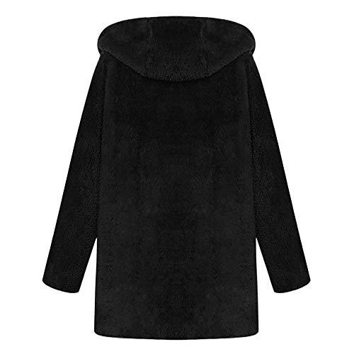 Con Outwear Leopardo Negro Algodón Abrigo Mujer Capucha Ropa Invierno Grande Mujer Chaquetas Talla Ashop SqaZpAvwW