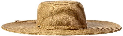 - Scala Women's Big Brim Paper Braid Hat, Natural/Brown, One Size