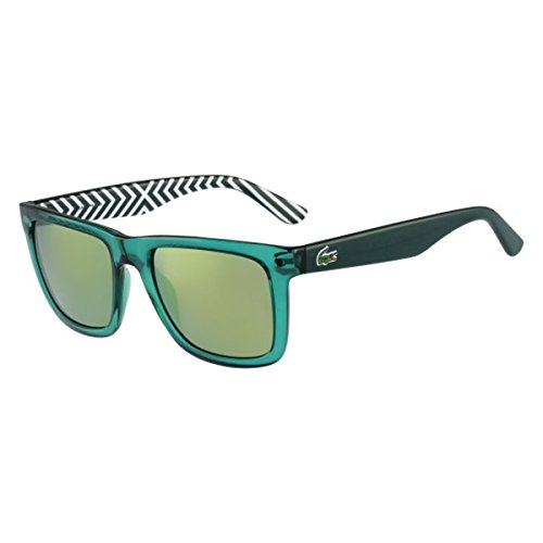 Lacoste L750S Wayfarer Sunglasses, Green, 54 - Sunglasses Green Lacoste