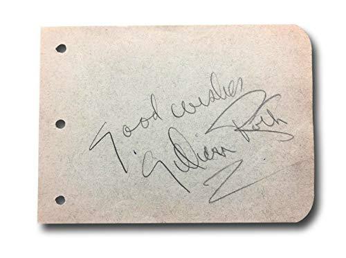 LILLIAN ROTH HAND SIGNED ALBUM PAGE CUT JSA COA AUTOGRAPH ACTRESS ANIMAL CRACKER ()