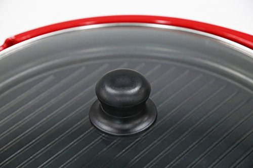 Elite Gourmet EMG-980R Indoor Grill, Red by Maxi-Matic (Image #3)
