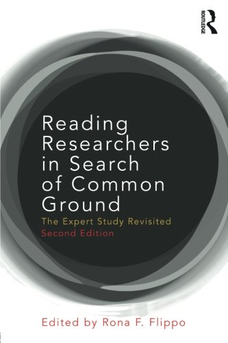 Reading Researchers in Search of Common Ground: The Expert Study Revisited