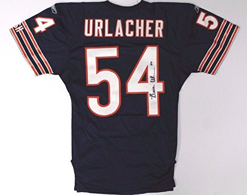 Brian Urlacher Chicago Bears Autographed/Signed Game Used Home Jersey LOA - PSA/DNA Certified - NFL Autographed Game Used Jerseys - Brian Urlacher Autographed Jersey