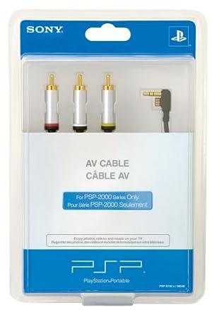 Amazon.com: PSP AV Cable: Artist Not Provided: Video Games