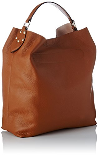 Twin Set As8pfa, Borsa a Spalla Donna, 15x38x34 cm (W x H x L) Marrone (Cuoio)