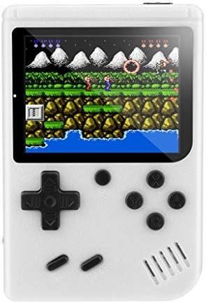 携帯ゲーム機 ポータブルゲーム機 3インチ 携帯用ゲーム機 ハンドヘルド ゲーム コンソール 内蔵500種ゲーム 子供向け ビデオゲーム クラシック ゲーム 子供ベストギフト AVケーブル付き (ホワイト)