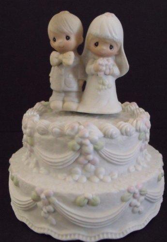 Precious Moments Wedding Cake Topper Musical