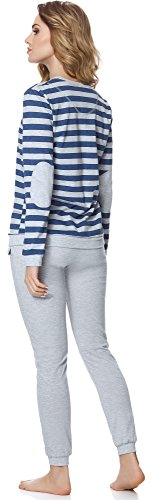 Style Merry Melange Donna 107 Pigiama Jeans MS10 zgw1Pqgd
