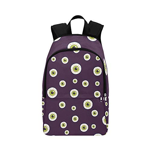 Halloween Trick Treat Candies Casual Daypack Travel Bag