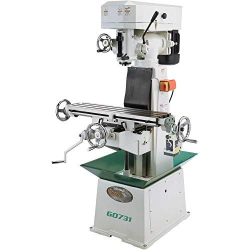 Grizzly G0731 8 by 30-Inch Vertical Mill with Power Feed