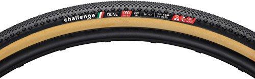 Challenge Dune Proタイヤ: Tubular、700 x 33 mm、300tpi、ブラック/タン B079F4CFFY