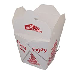 Pack of 15 Chinese Take Out Boxes PAGODA...