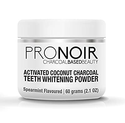 ProNoir Natural Activated Charcoal Teeth Whitening Powder (3.1oz) Get The Most Effective Organic Solution On The Market, No Harsh Chemicals or Gel Kits!