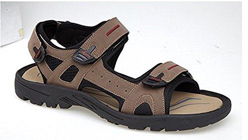 Triple Touch Fastening Sports Sandal - Brown - Brown - size UK Mens Size 6 CGveb6g