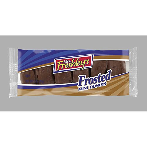 Mrs Freshleys Chocolate Mini Donut, 3.3 Ounce -- 72 per case. by Mrs. Freshley's