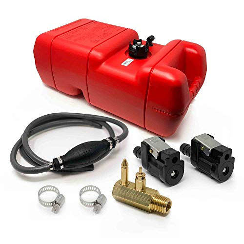 (Five Oceans 6 Gallon Fuel Tank/Portable Kit (All Yamaha and Mercury Up to 1998) 3/8