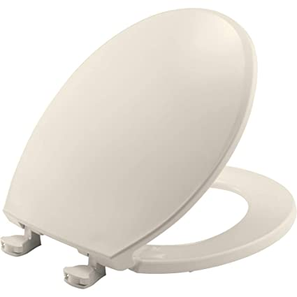 Phenomenal Bemis 800Ec 346 Toilet Seat With Easy Clean Change Hinges Round Biscuit Linen Ibusinesslaw Wood Chair Design Ideas Ibusinesslaworg