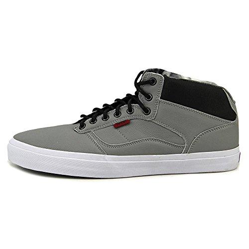 Vans Herren Bedford Craft Knöchelhoher Wildleder Fashion Sneaker (Bomber) grau / weiß