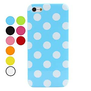 Wave Point Pattern Soft Case for iPhone 5/5S (Assorted Colors) --- COLOR:Rose