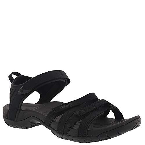 Teva Women's, Tirra Sandal Black Black 10 M