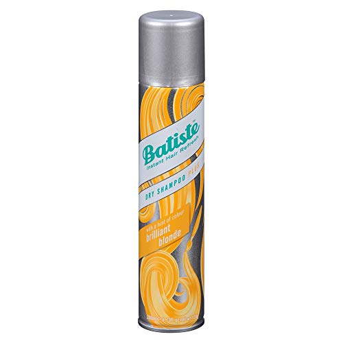 Batiste Dry Shampoo Plus, Brilliant Blonde 6.73 oz (Pack of 3)