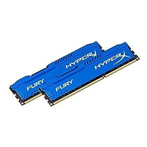 Kingston HyperX FURY 16GB Kit (2x8GB) 1600MHz DDR3 CL10 DIMM - Blue (HX316C10FK2/16)