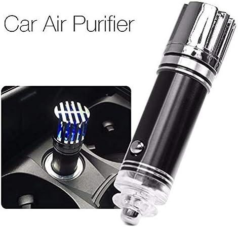 Purificatore Aria per Auto Ionizzatore d'aria NERO per Accendisigari 12v Ionico