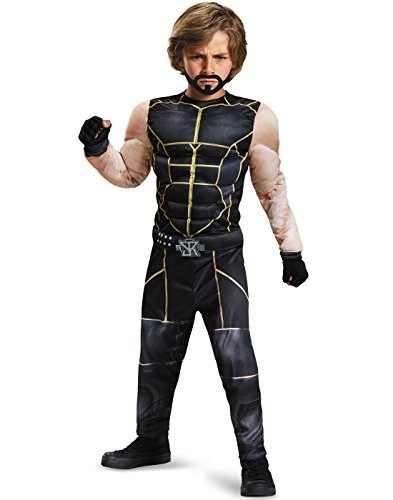 Seth Rollins Classic Muscle WWE Costume, Large/10-12 by Disguise
