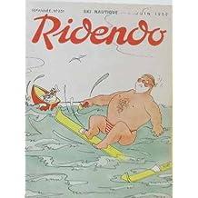 Ridendo 19 è année n° 231 ski nautique juin 1959