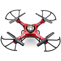 RC Quadcopter,JJRC H8D RC Quadcopter Drone 5.8G FPV HD Camera+Monitor+2 Battery Xmas Gift By Dacawin (Red)