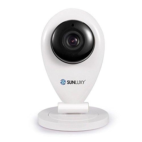 SUNLUXY Wireless WiFi Baby Video Monitor Security IP Camera,