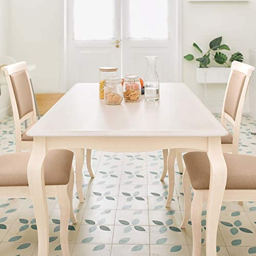 home, kitchen, furniture, kitchen, dining room furniture,  table, chair sets 2 discount Furgle Dining Set Rectangular Rubber Wood Kitchen Table deals