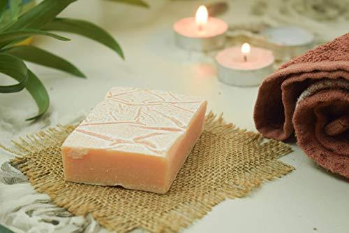 Buy SVATV Handmade Luxury Sugar Natural Soap ll For All Skin types 100g Bar ll Kosher Certified (Sndalwood Kesar) Singapore