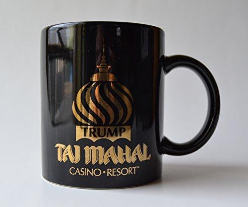 Trump Taj Mahal Casino Resort Black Ceramic Coffee Mug (Trump Taj Mahal Casino Resort Atlantic City)