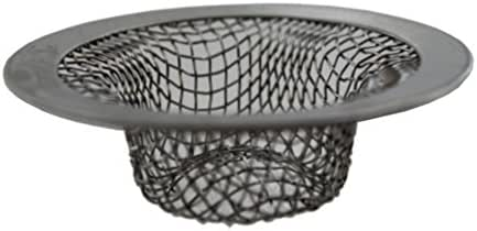 LASCO 03-1386 Stainless Steel Mesh Cup Shaped Strainer Fits Bathroom Sink Drains