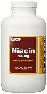 Niacin 500 mg 1000 Tabs
